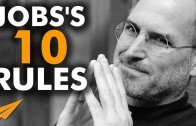 10 Rules from Steve Jobs on Success!