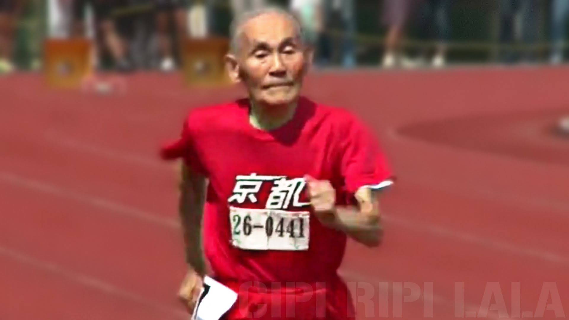 105 year old Japanese sets world record