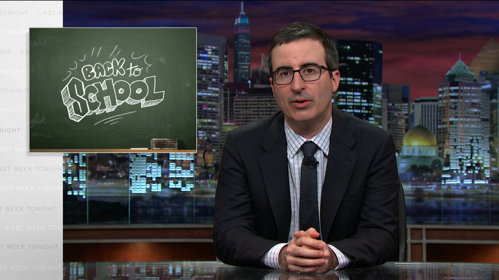 Back To School – John Oliver