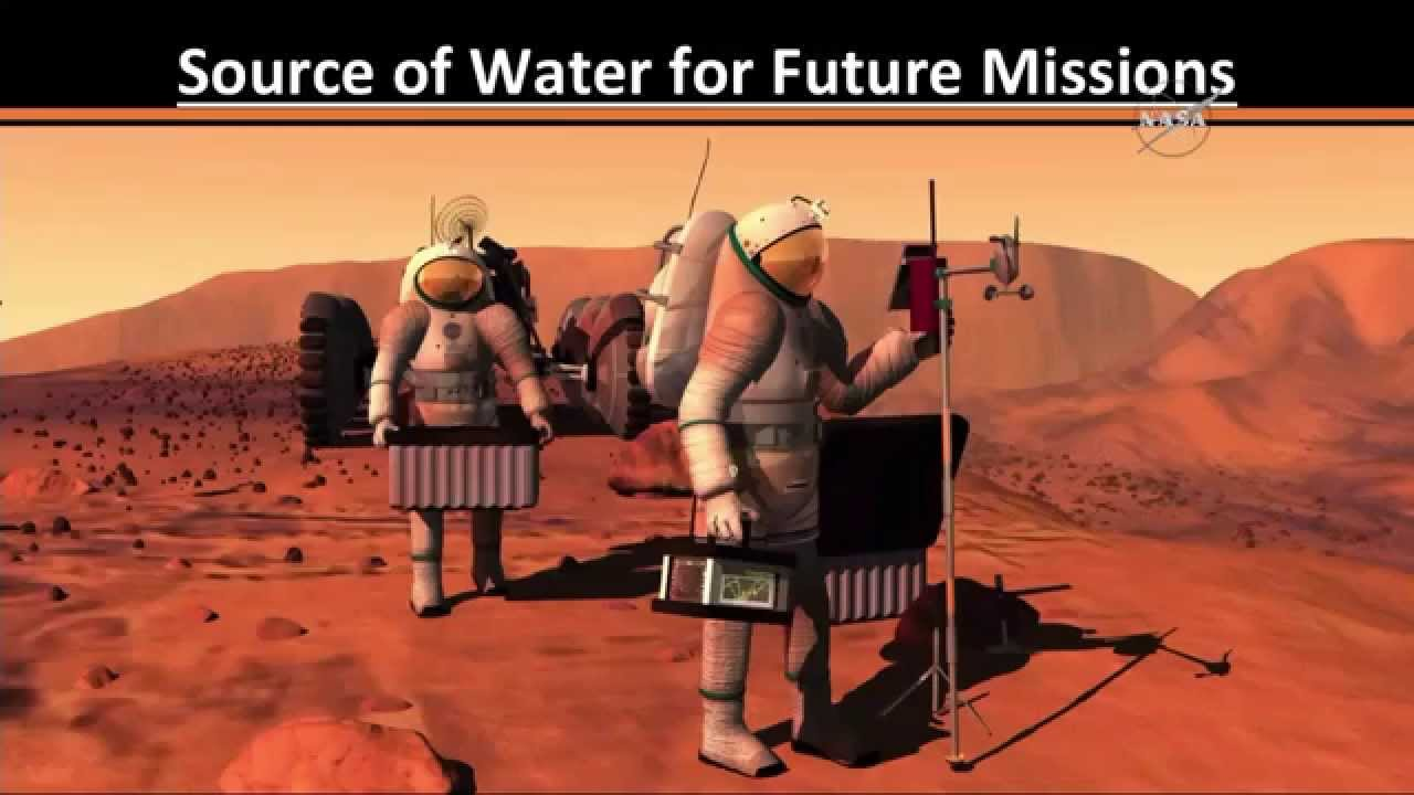 Breaking News: Water in Mars discovered by NASA !