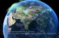 Great Visualizing on how the connected world is trying to heal Nepal
