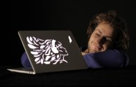 Laser cut and customize your MacBook backlight