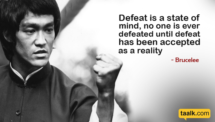 11 Bruce lee's Quotes that will motivate you right now
