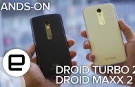 Hands-on, Droid Turbo 2 and Droid Maxx 2