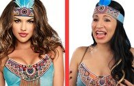 "Native Americans Try On ""Indian"" Halloween Costumes"