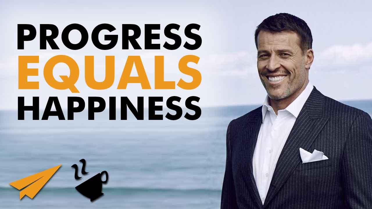 Progress equals HAPPINESS !