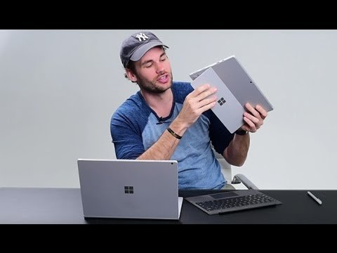 Review, Microsoft Surface Book Vs Surface Pro 4