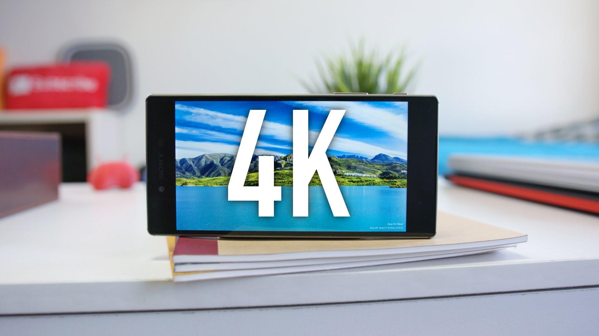 A 4K Smartphone!