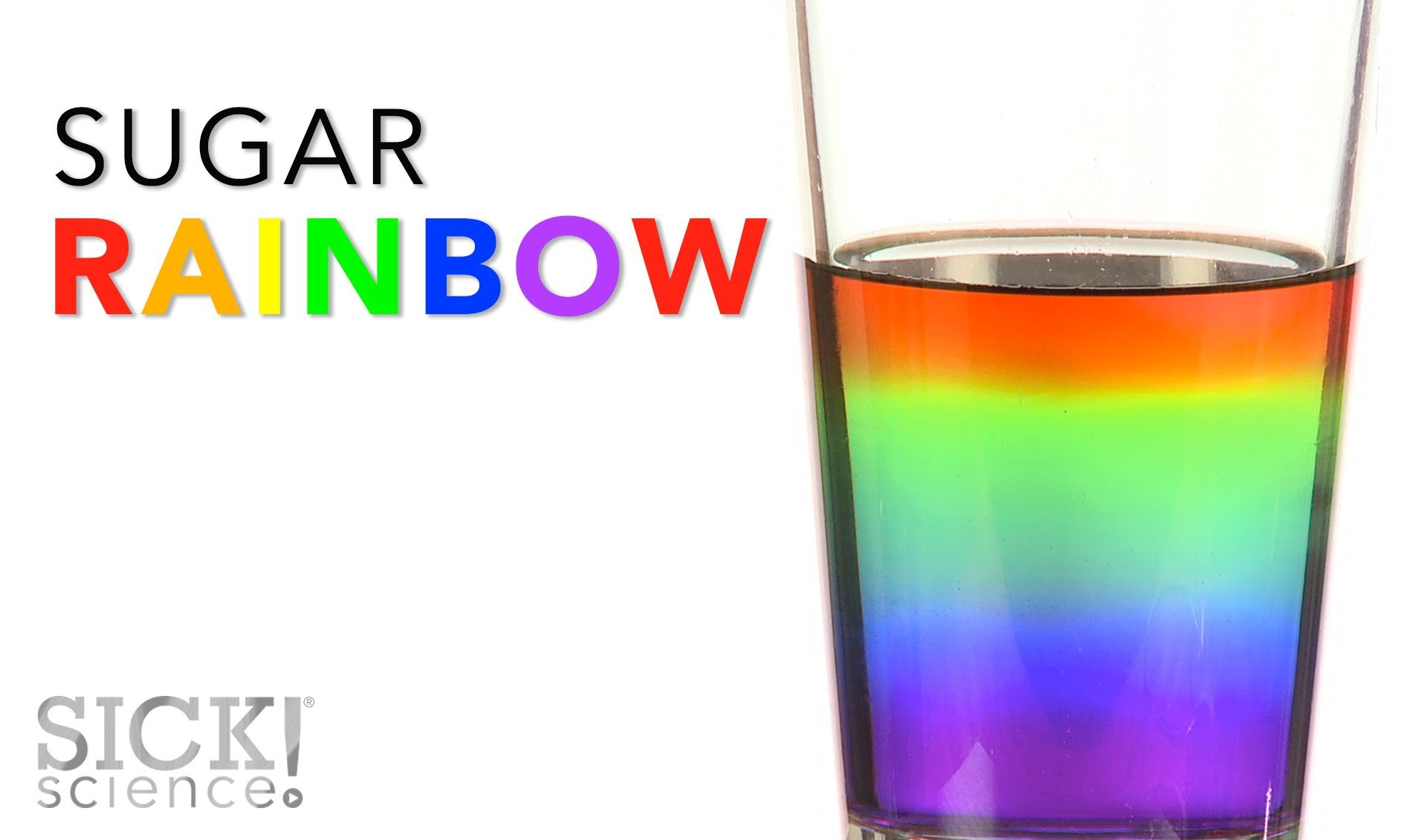 Amazing Rainbow with Sugar!