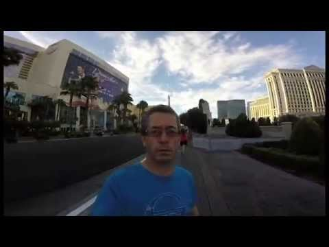 An Irishman In Vegas Unknowingly did a cool Vlog