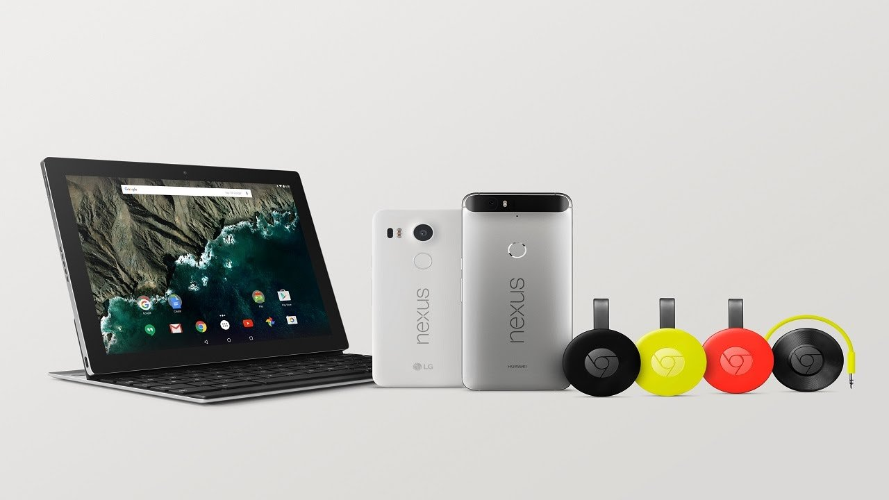 Google on Nexus phones, a tablet for work and play…