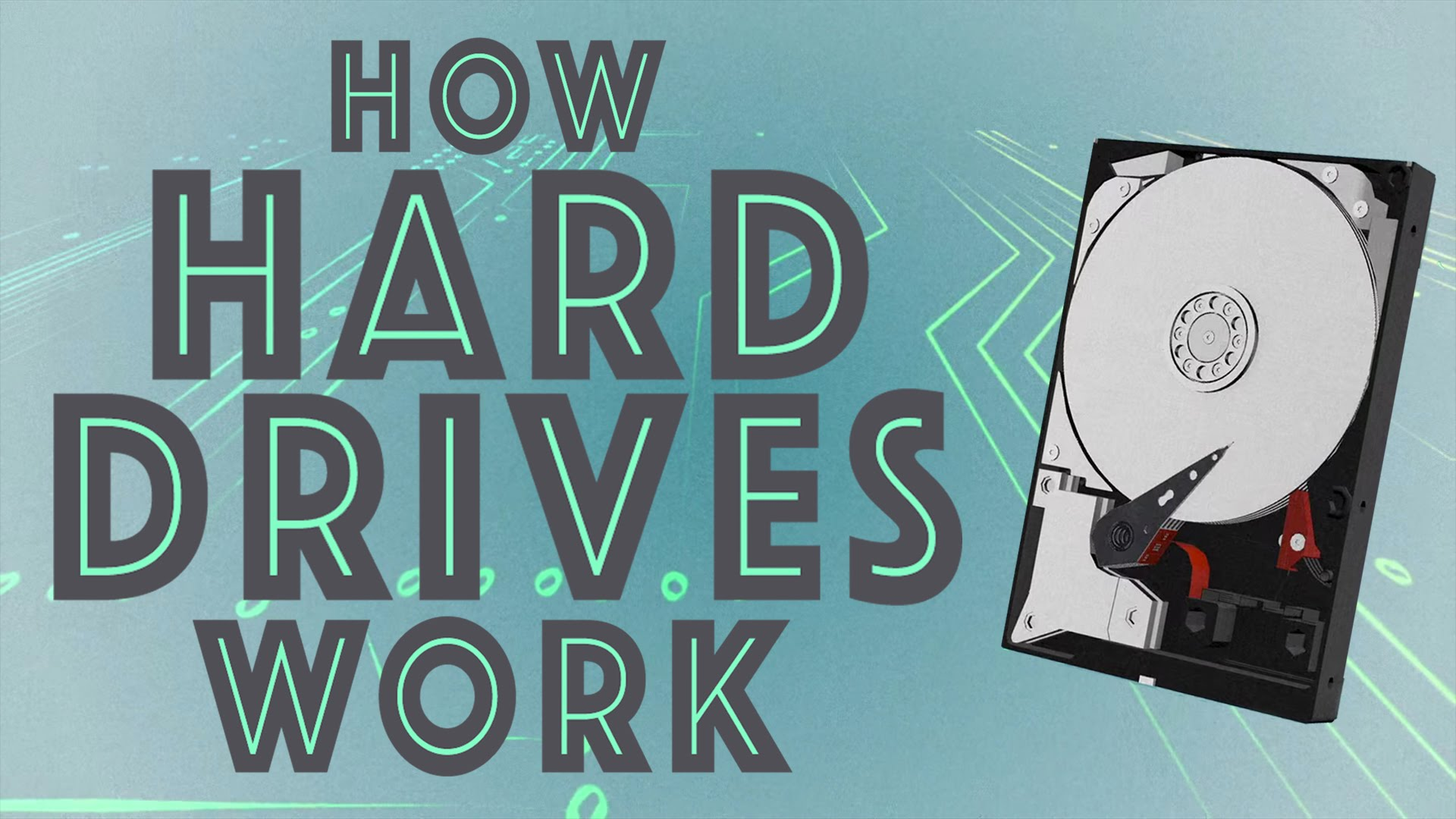 How do hard drives work?