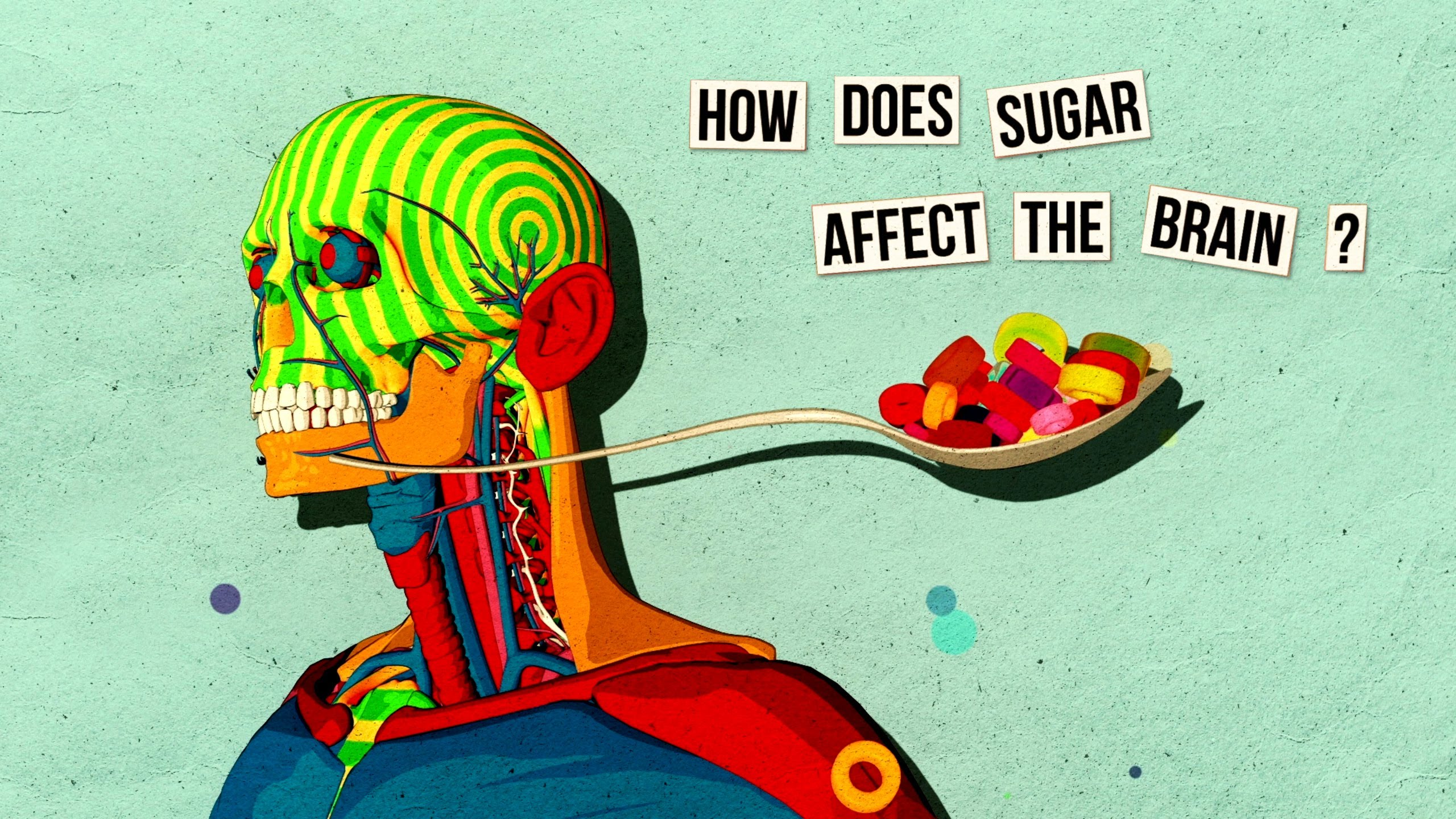 How sugar affects the brain ?