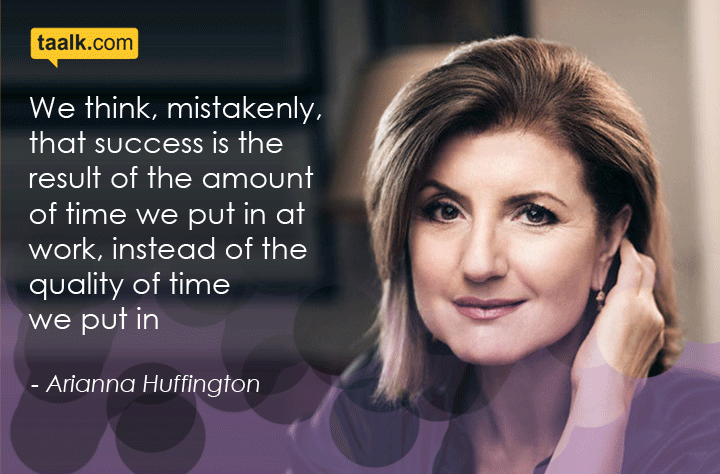 Inspiring Quotes by Arianna Huffington !