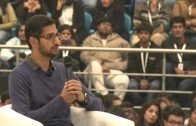 Google CEO Sundar Pichai at Delhi University