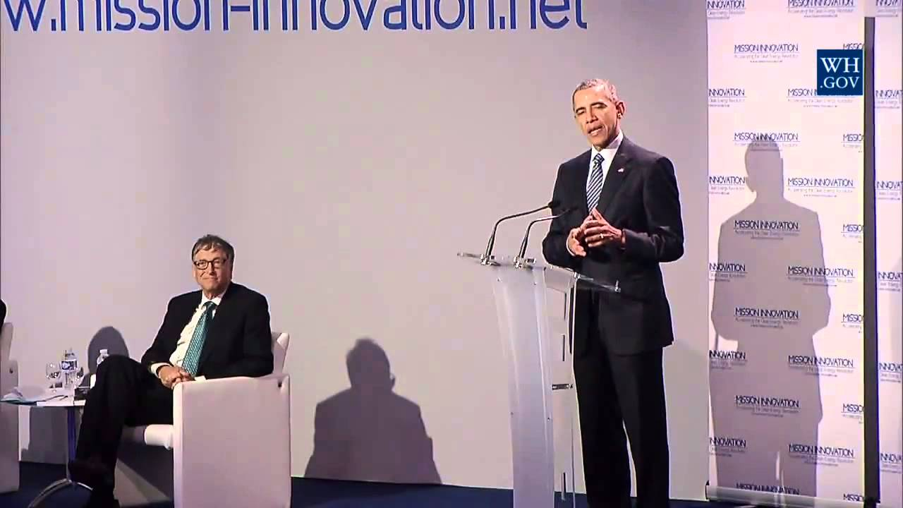 Obama Announces Mission Innovation – Full Speech