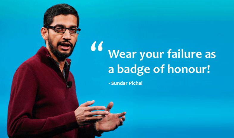 10 Quotes for Technopreneurs from Sundar Pichai !