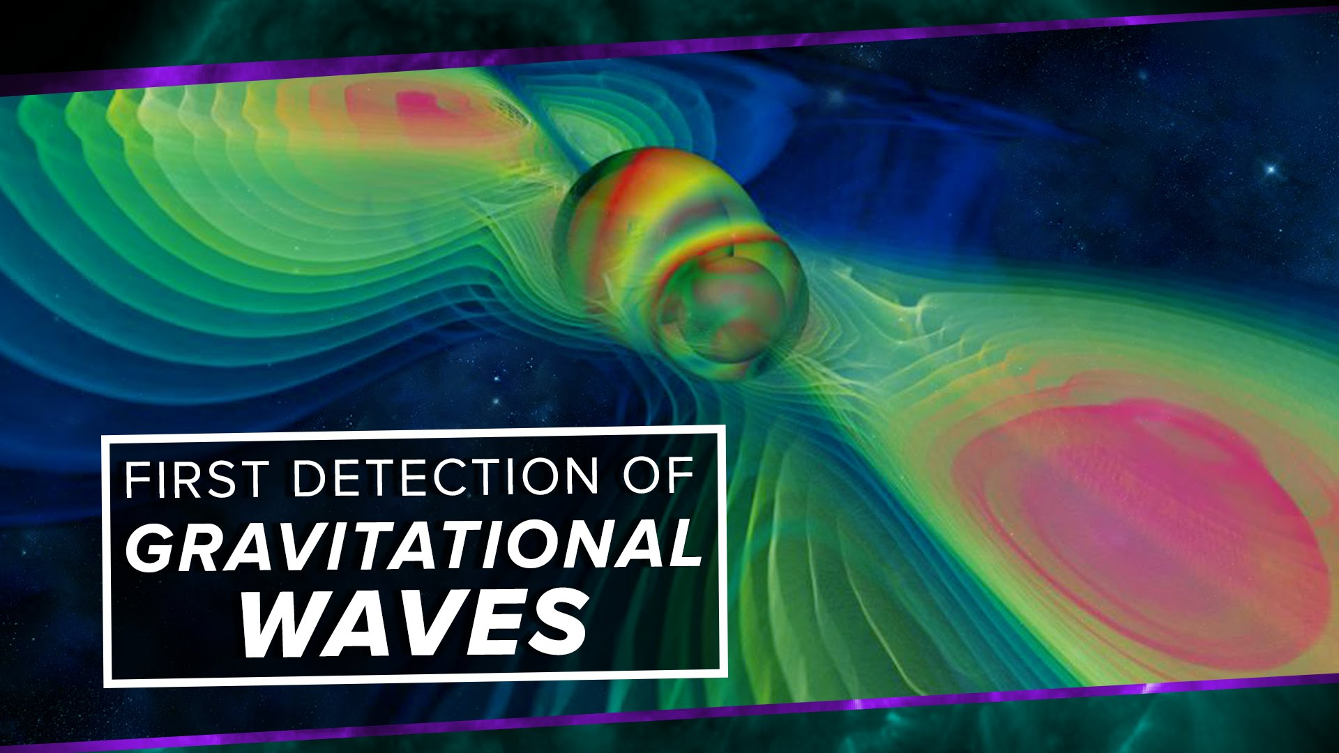 Einstein's Gravitational Waves Discovered !