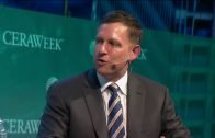 Keynote with Peter Thiel at CERAWeek