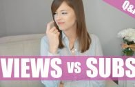 VIEWS vs. SUBSCRIBERS… and more vlogging Q&A!
