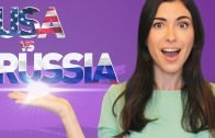 USA vs RUSSIA: driving, eating out and discussing other people