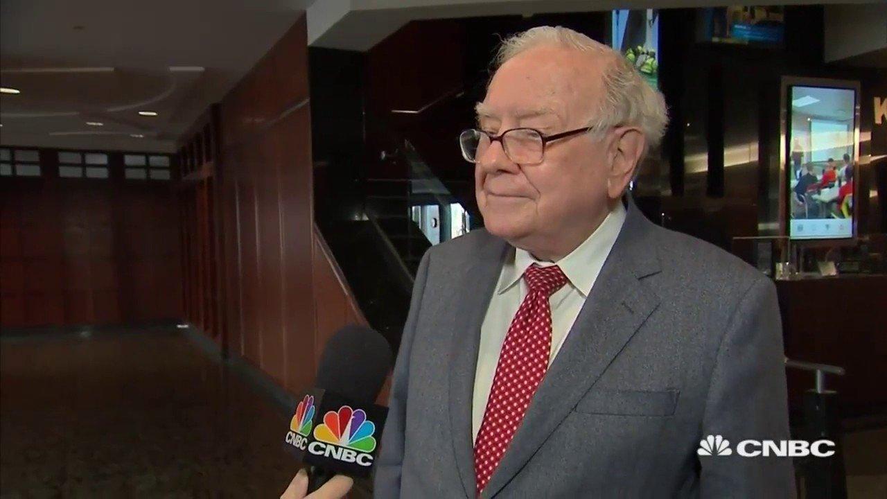 Warren buffet on Jeff Bezos