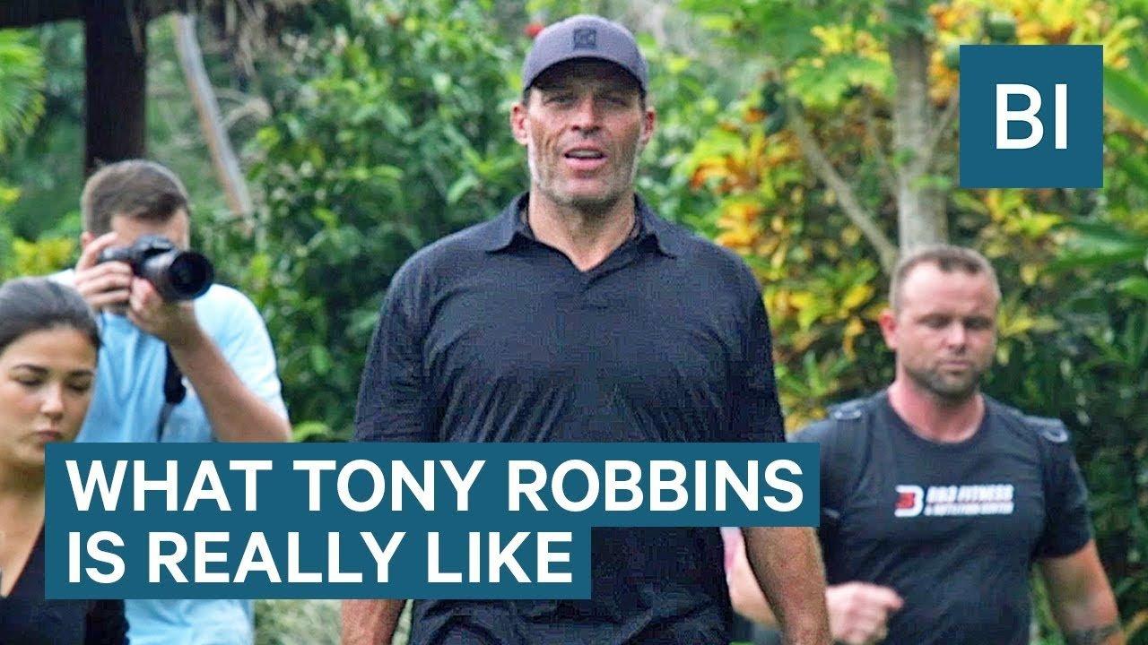 Spending 4 days with Tony Robbins!