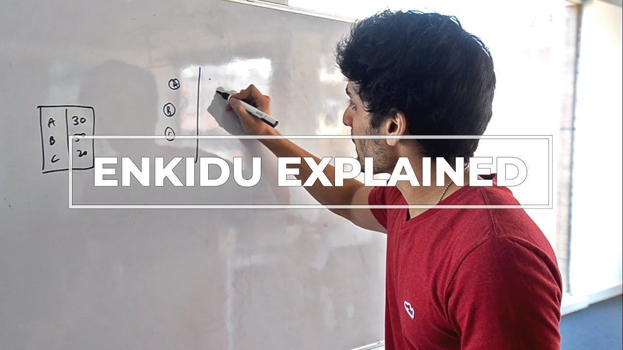 Enkidu – A decentralized global collaboration platform