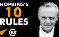 Anthony Hopkins' Top 10 Rules For Success