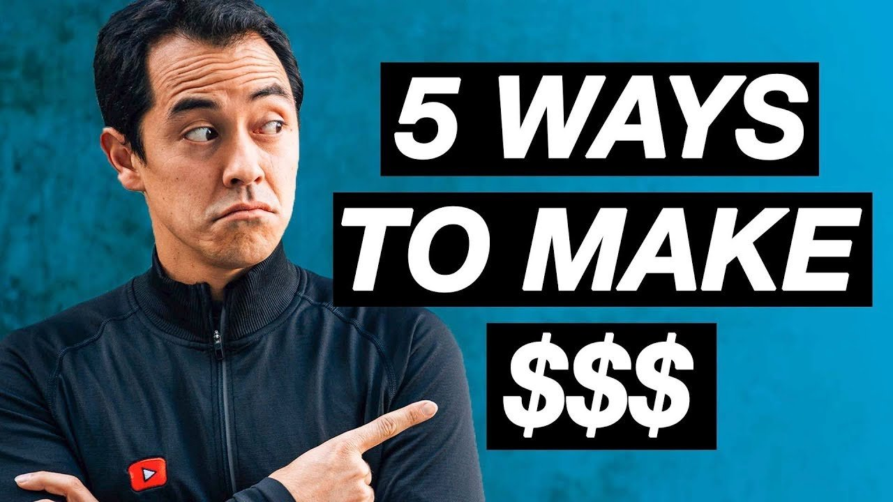 5 Ways to Make Money on YouTube + Q/A
