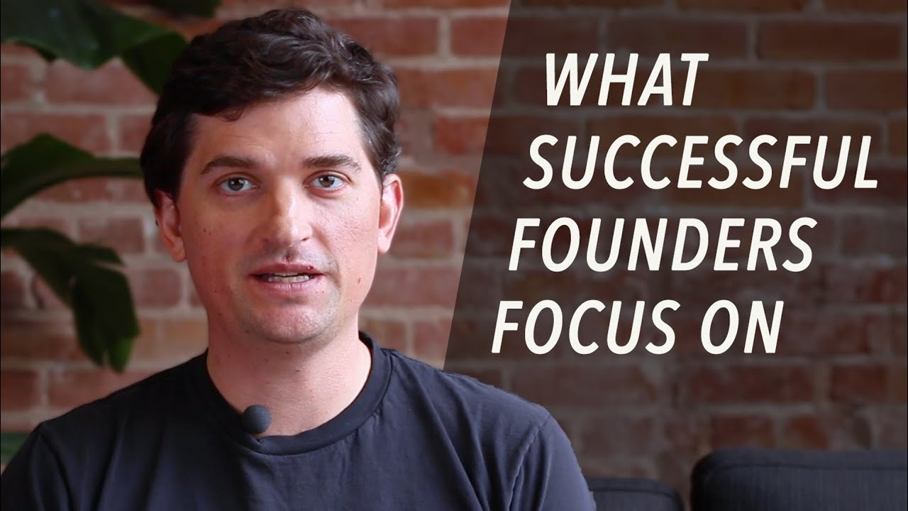 What Successful Founders Focus On – Dalton Caldwell