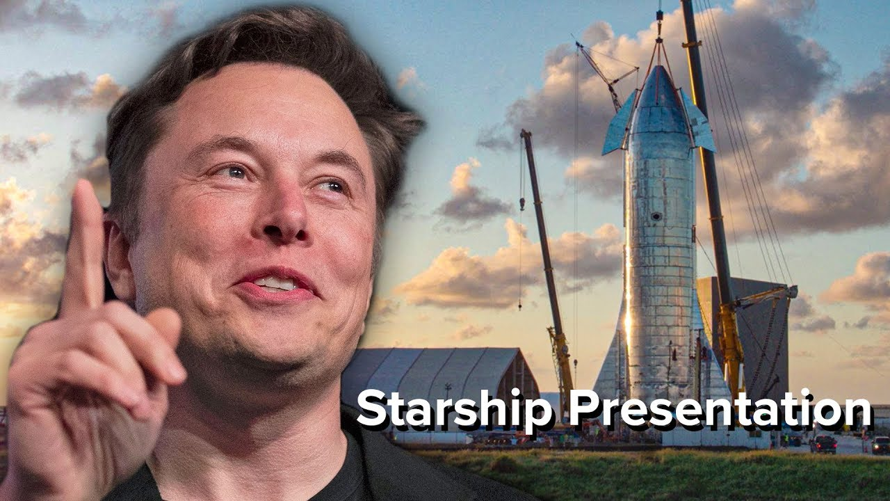 Elon Musk's Starship Announcement