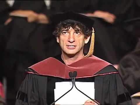 Neil Gaiman – Inspirational Commencement Speech at the University of the Arts 2012