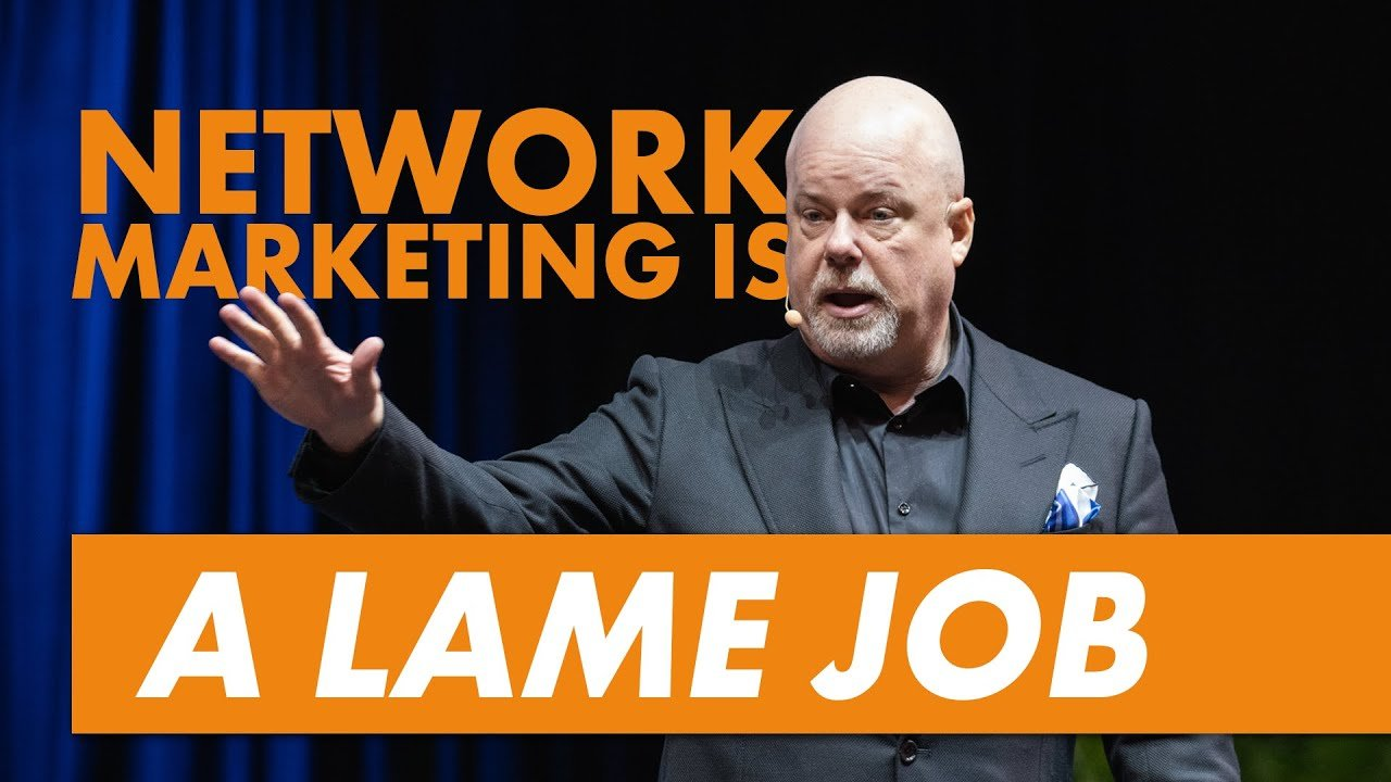 Network Marketing Is A Lame Job – Eric Worre & Network Marketing Pro