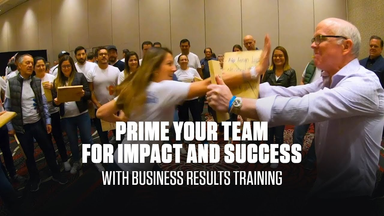 Prime your team for impact and success with Business Results Training