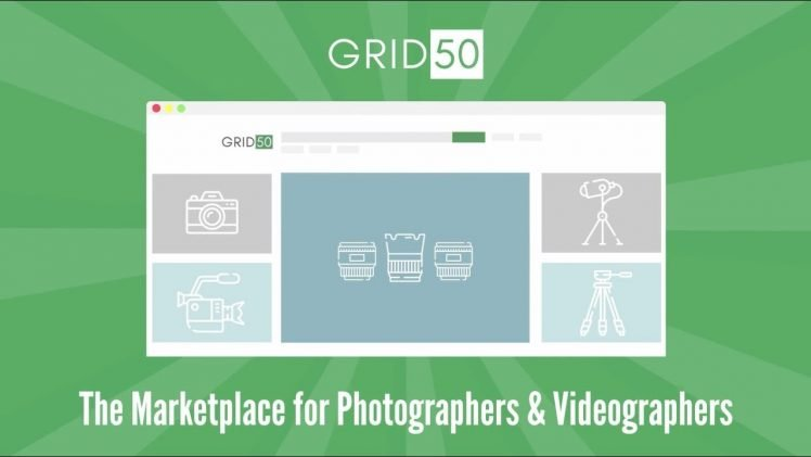 Grid50, A Marketplace for Photographers & Videographers
