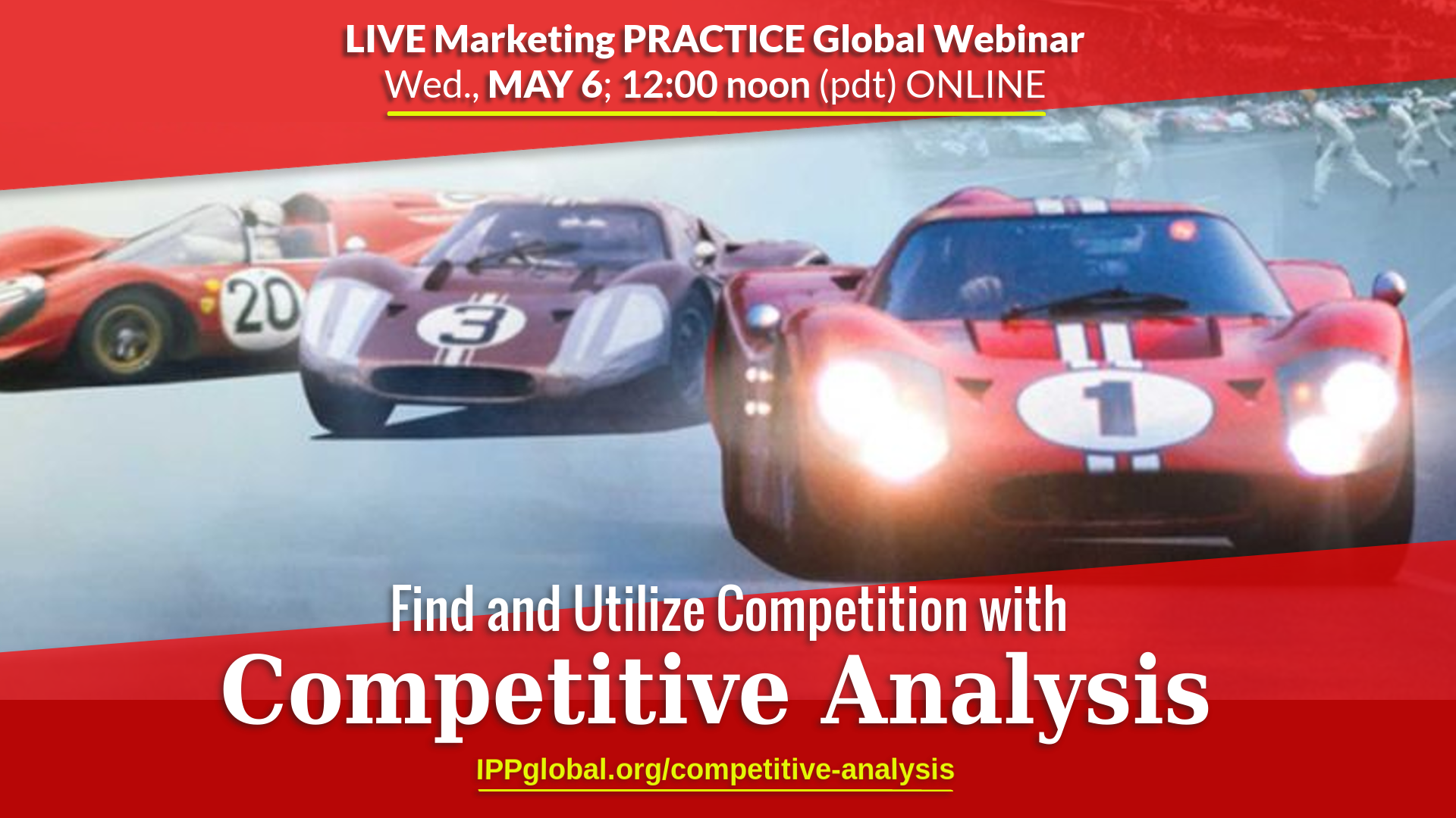 Free Webinar on Competitive Analysis Process for Startup Founders!